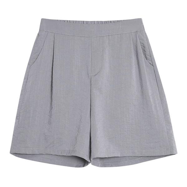 Long Shorts High Waisted Shorts Plus Size Short High Waist Summer Hotpants Ladies Korean Casual Cool 2019 Sexy Elastic