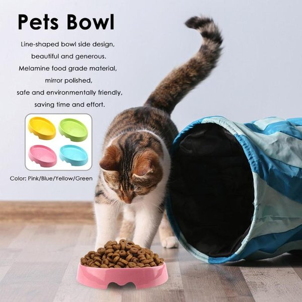 non-slip pets bowl cat kitten feeding water dish dog puppy feeder pet supplies dog cat feeding water dish dogs bowl