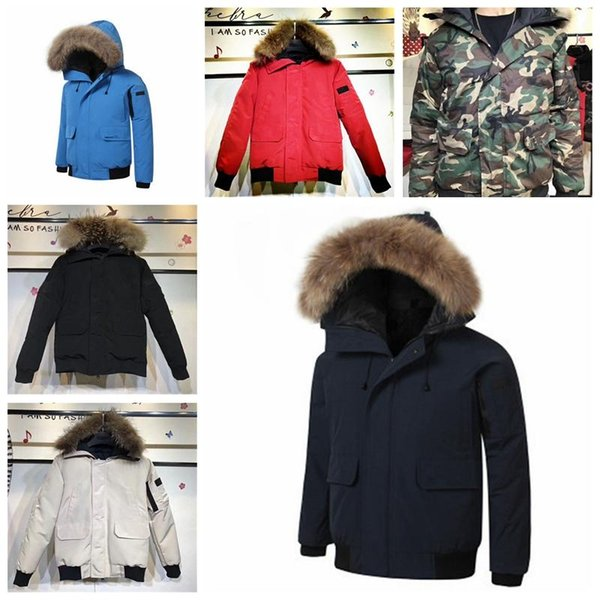 19ss designer jackets winter jacket mens white duck down jacket with hoodies black blue canada new man fashion keep warm goose down jackets thumbnail