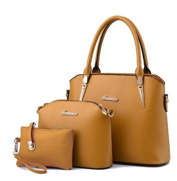 Bolsos de bolsos de gran capacidad Bolsas principales Bolsos de lujo de diseñador de moda de la marca 2019 Mejor vendedor Estrella de alta calidad estilo US bolso Scarlet Gray