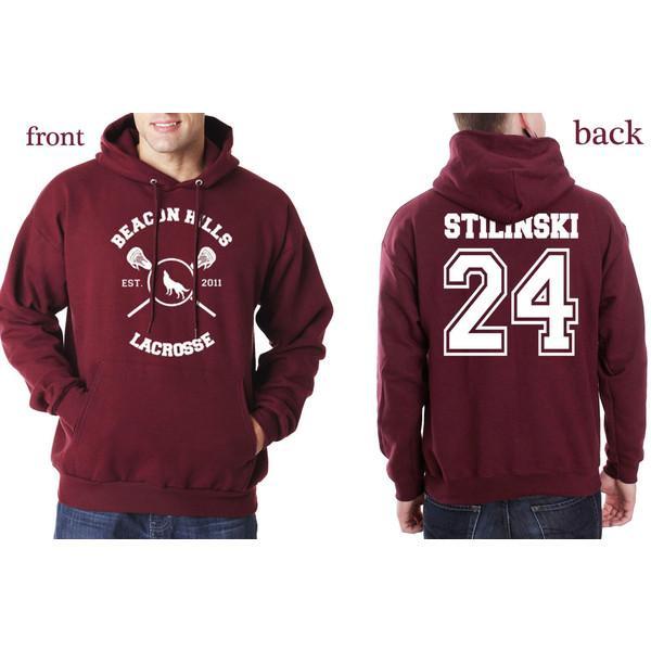 ba476109dd6c Compre Beacon Hills Lacrosse Hombres / Sudaderas Con Capucha Lobo ...