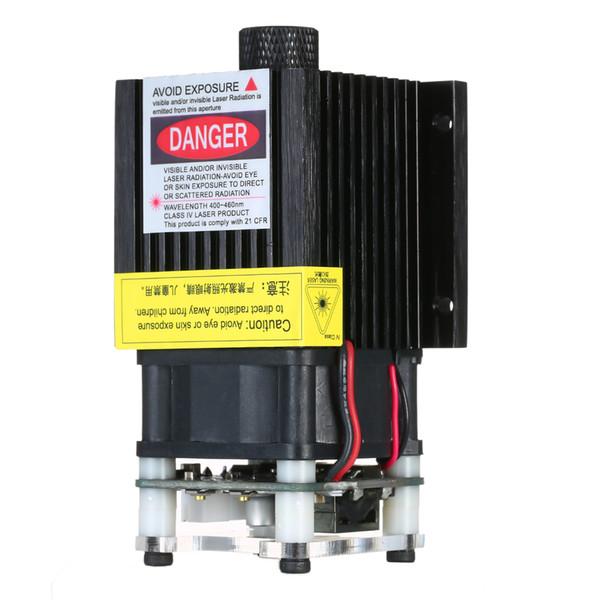 Justierbarer Fokus-Laserkopf 300mw 500mw 1600mw 2500mw 5500mw Lasermodul 2.54-3PL / PWM Modulation für DIY Graveur