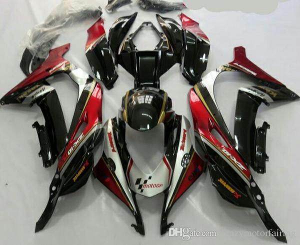 Heiße Verkäufe, Für Kawasaki Ninja ZX 10R 2016 ZX10R 16 ZX-10R Rot Bodywork Sportbike ABS Verkleidung Kit (Spritzgießen)