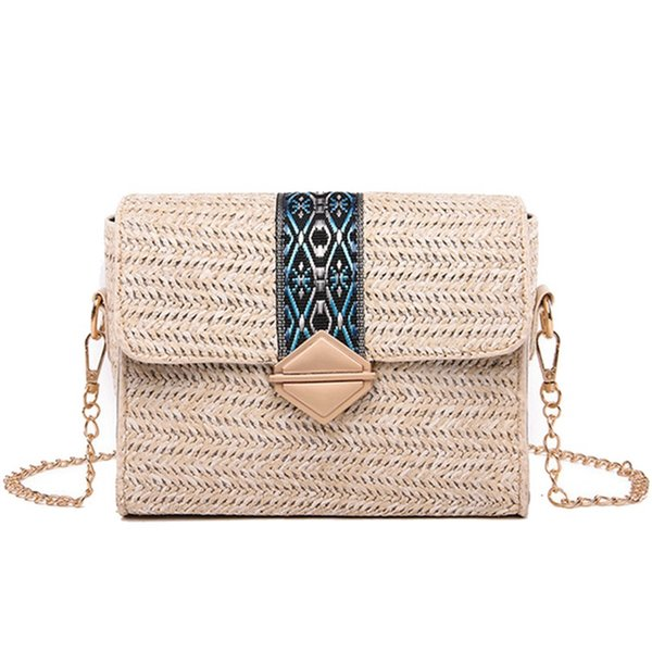 Straw Bags Summer Beach Women Weave Straw Bag Sling For Women Vacation Bag Woman Summer Small Female