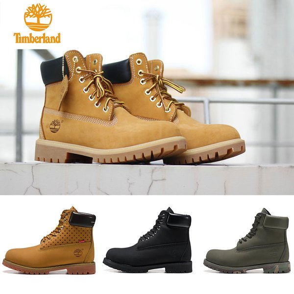 New designer Original mens womens winter boots fashion Military boots black red brown Grey green Casual Trainers Luxury size 5.5-11