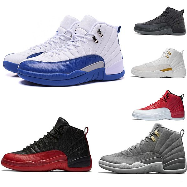 top popular Chinese Year12 basketbal lRETRO CNY sneakers 12S OVO shoes mens sports shoes Chicago White red luxury Athletic shoes EUR 40-46 2019
