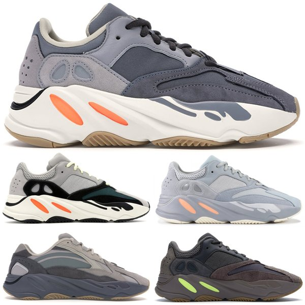best selling 700 Stock X Men Women Sneakers Reflective Magnet Inertia V2 Wave Runner Black Static Deaigner Shoes Tephra Vanta Analog Mauve Geode Trainers