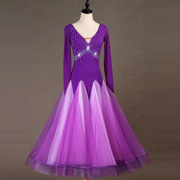 2019 Ballroom Dress Standard Ballroom Waltz Dresses Plus Size Dance  Costumes Dance Dresses For Sale Wear From Aprili, $180.69 | DHgate.Com