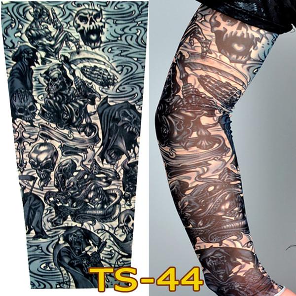 UV Cool Arm Sleeves Unisex Nylon Tattoo Sleeves Temporary Tattoo Arm Stockings Sleeves New Quality Sunscreen Arm Sleeve
