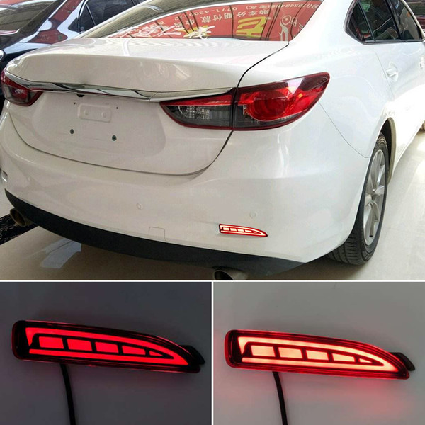 best selling LED Rear Bumper Reflector Brake Stop Light For Mazda 6 Atenza For Mazda 2 DY For Mazda 3 Axela (CA240) Car-styling Turn Signal