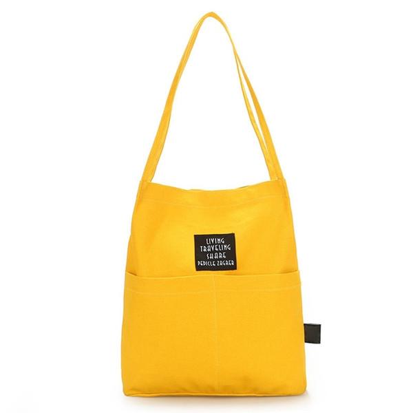 Moda mujer bolso de mano reutilizable lienzo bolsas de compras bolsas de algodón bolsas de la compra plegable gato negro impresión carrito Eco agarrar bolsa # 215175