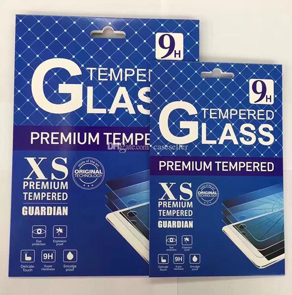 top popular 9H Premium Tempered Glass Screen Protector Film For ipad Air Air2 Air3 pro 9.7 2018 11 12.9 mini 1234 mini5 T580 T590 T510 T290 with retail 2019