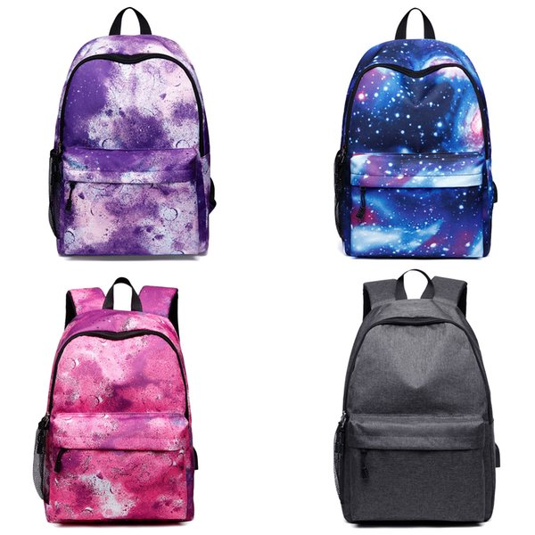 Starry Star Laptop Backpack for Girls & Boys Printing School Backpack Casual Travel Bag for Men Bagpack