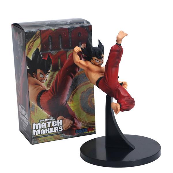 Anime Dragon Ball el yapımı modeli Maç Maker Goku VS Piccolo PVC süsler Kutulu El Ofis Dekorasyon Modeli