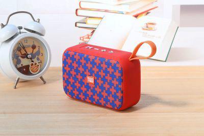 Bluetooth Speaker Portable Card U Disk Fabric Portable Wireless Gift Mini Speaker