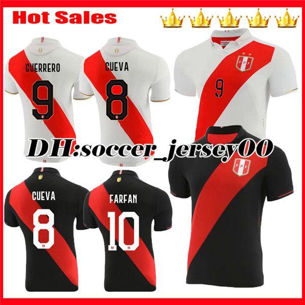 Peru 2020 World Cup Jersey.2019 2019 2020 Copa America Peru Home Away Soccer Jersey Carrillo 18 Peru 19 20 Guerrero Farfan Flores Top Quality Football Jerseys Shirt From