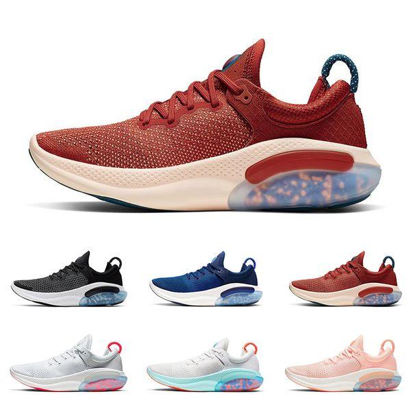 Compre Nike Nuevas Zapatillas De Running Joyride Para Hombre University Red Sunset Pink Racer Blue Oreo Para Hombre Zapatillas Deportivas Deportivas