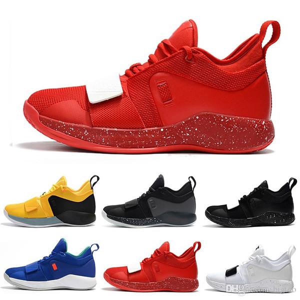 Drop Shipping designer sapatos PG 2.5 PlayStation Taurus Estrada Mestre Sapatos De Basquete Paul George PG2.5 PS Esporte Tênis Tamanho 40-46