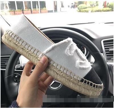 Mocassini Platform in pelle morbida con espadrillas per donna Designer Designer di pelle di pecora Fashion Flats Scarpa casual bicolore donna di alta qualità 35-42