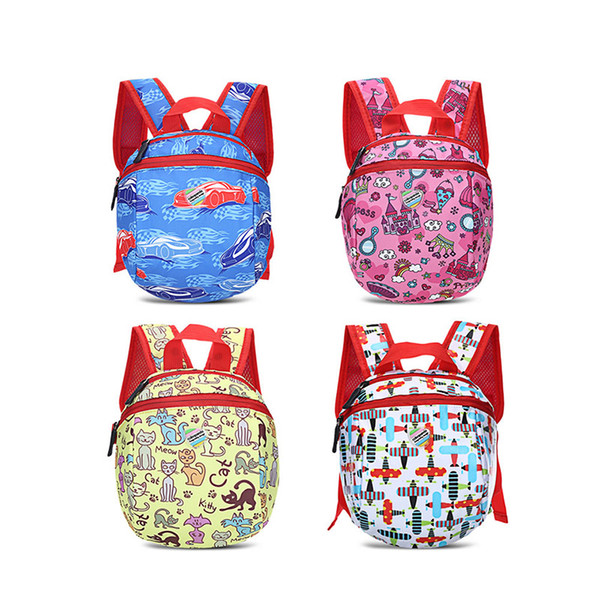 2019 new Cute Colorful Unisex mother Bag Baby Cartoon Small Kindergarten Backpack keeping baby's things