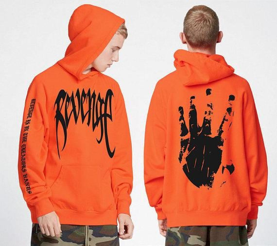Fashion Men's Hoodies with New Letter Printing Men's Jacket Hooded Sweatshirt Cool Streetwear Casual Pullover Hoodies Size S-2XL 2 Color