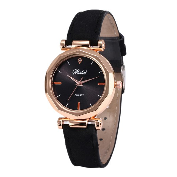 Hot Women Watch Luxury Fashion Quartz Leather Strap Woman Wrist Watches Clock Gifts Crystal Analog Ladies Dial Watch feminino 65