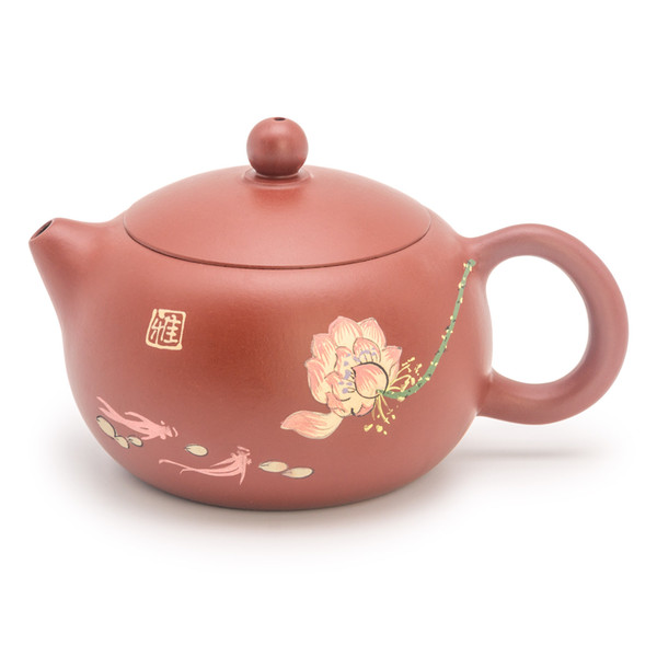 Chinese handmade yixing zisha teapot,china kungfu purple clay tea set,a good present for friends ,chinese tea ceremony