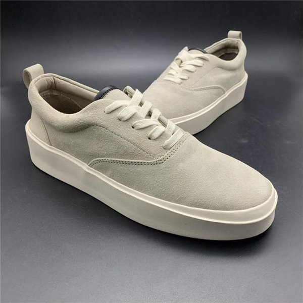 Update Fear Of God x Mens Casual Shoes The Season 5 Suede Skateboarding Shoes Italy Luxury Slip-On FOG Fashion Designer Shoes 8fgjh