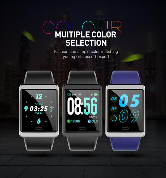 Y13 1,3-дюймовый большой экран умный браслет часы ip67 водонепроницаемый монитор артериального давления кислорода сердечного ритма