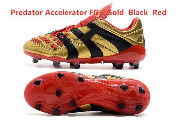Hızlandırıcı FG - Altın Siyah Kırmızı