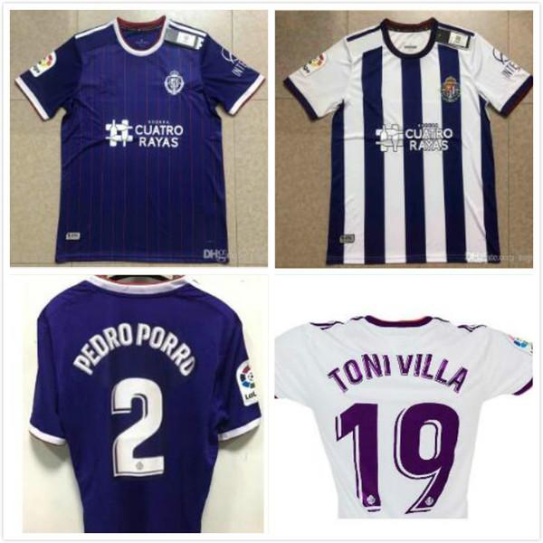 2019 2020 Real Valladolid CF 19 20 futbol Formalar ev uzakta ALCRAZ camisetas de futbol MARTINEZ Pedro Porro unal futbol forması
