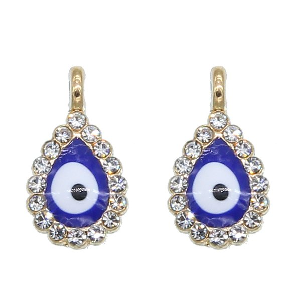 50pcs New Turkey Evil Eye Necklace Bracelet Pendant Accessories Blue Fashion Jewelry Protection Men's and Women's Handmade wholesale