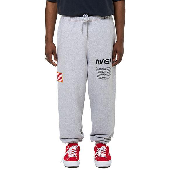 best selling NASA Pants Heron Preston Sweatpants Mens High Street Designer Pants NASA Casual Joggers Pants Men Women Hip Hop Sweatpants Size S-XL