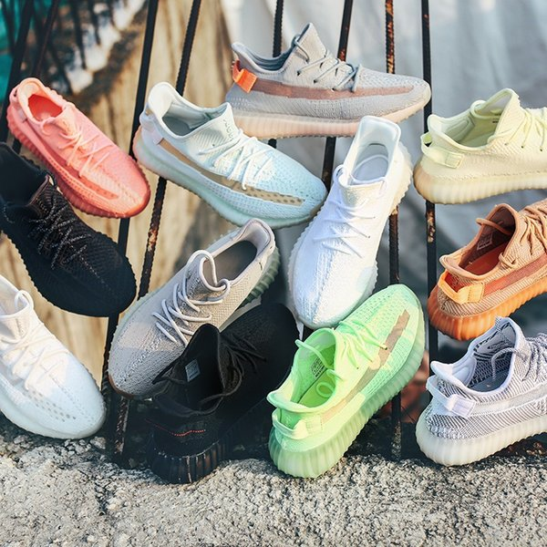 True Form Hyperspace Clay Static GID In The Dark Antlia Synth Lundmark black Static Refective Glow Mens Women Running Shoes Kanye West