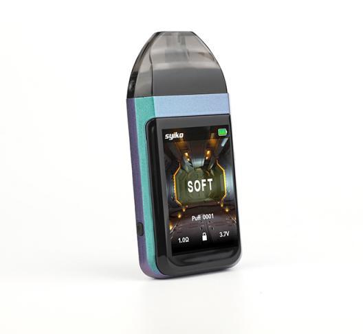 2019 Date vape pod mod rechargeable SE écran tactile vape kits de démarrage 650mAh cartouche rechargeable système de gousses