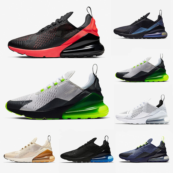 Bred 270 Mens Running Shoes Hot Punch photo blue Void Platinum Tint Triple Black White Men women Sports Trainers Athletic Sneakers 36-45