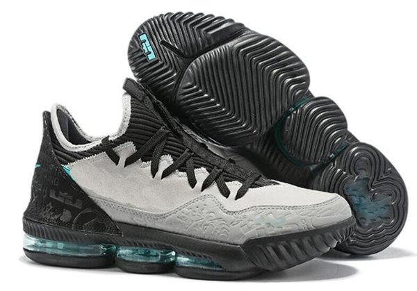 2019 New Mens Lebrons 16 XVI Low Basketball Shoes For Sale Retro BHM Oreo  Lebron James 23 Sneakers Size 7 12 04 From Supersneaker888, $45.69