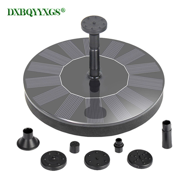 solar fountain landscape fountain device brushless water pump for outdoor home family garden park rockery decoration - from $20.72