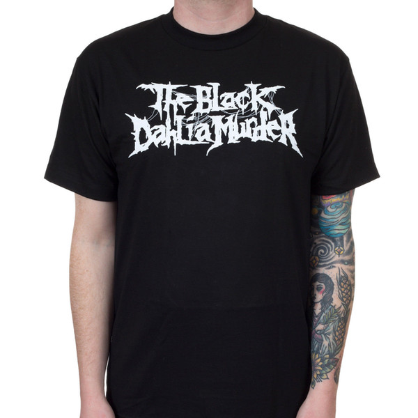 Authentic THE BLACK DAHLIA MURDER Nightbringers Logo T-Shirt S-2XL NEW Funny free shipping Unisex Casual gift