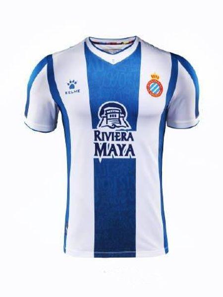 2019 2020 RCD Espanyol B.IGIESIAS Soccer Jerseys 19 20 Spanish home Camiseta de futbol ROSALES S.DARDERI FERREYRA DIDAC Football Shirt