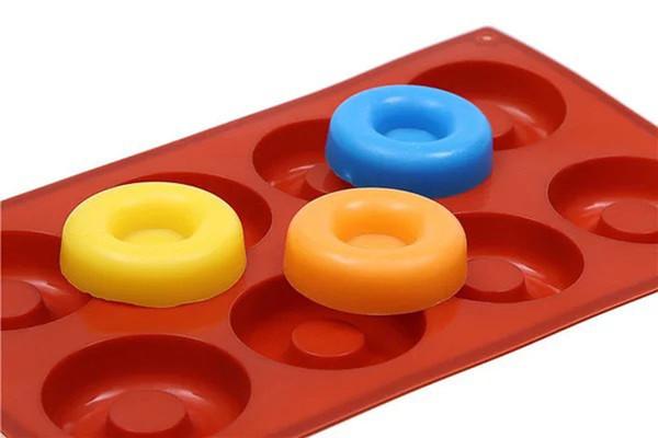 Kuchen Backform Silikonseifenform 3D Schokolade Liefert Backform Tablett Formen Süßigkeiten Machen Werkzeug DIY Gelee
