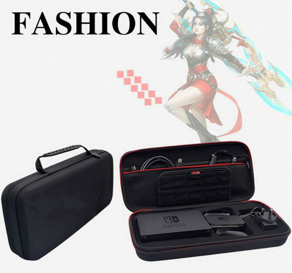 For Nintendo switch game console accessories big package military plus long EVA storage bag