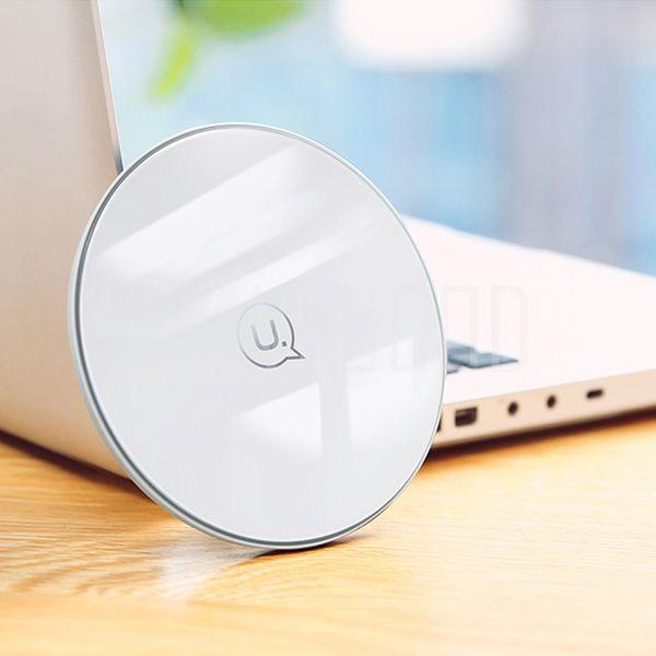 série de vidro Us-CD55 wireless base de carregamento rápido pode apoiar a realização de nenhum atraso de carregamento de equipamentos inteligentes