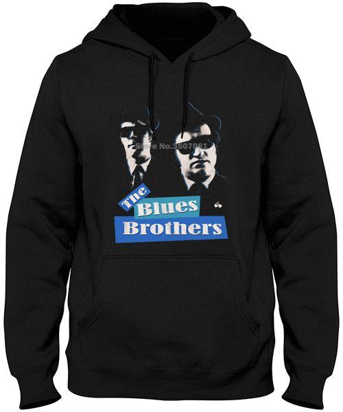New Funny Brand Clothing Blues Brothers Bluesbros Black Men's Adult long Sleeve Hoodies & Sweatshirts
