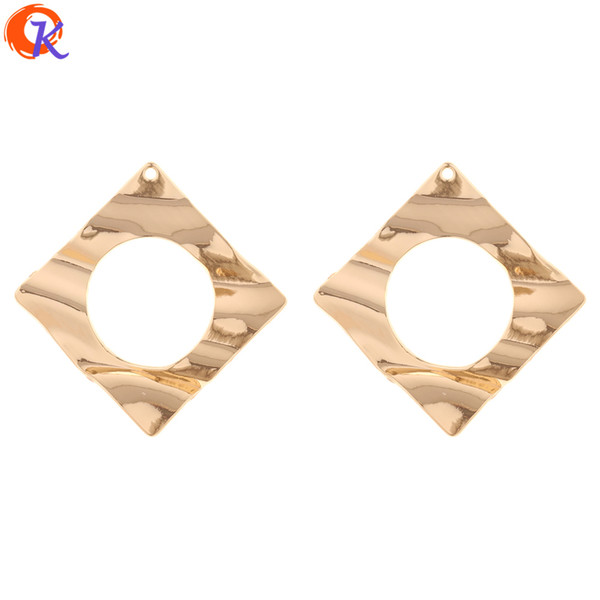 wholesale 30Pcs 48*49MM Jewelry Accessories/Earring Connectors/Square Shape/DIY/Hand Made/Jewelry Making/Earring Findings