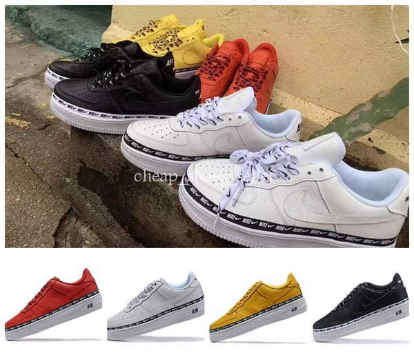 2019 forced New 07 LV8 UTILITY Premium Low Designer Skate Shoes Sports White Black Mens Trainers One Sport 1 Skateboard Men Womens Sneakers