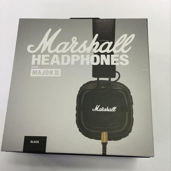 best selling Hot Marshall Major I Marshall Major II Headphones With Mic Deep Bass DJ Hi-Fi Headphone HiFi Headset Professional DJ Monitor Headphon DHL