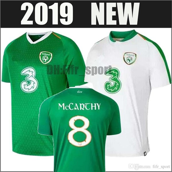 748684bc5 2018 2019 Ireland soccer jerseys 18 19 home away Republic of Ireland FAI  DUFFY McCLEAN LONG
