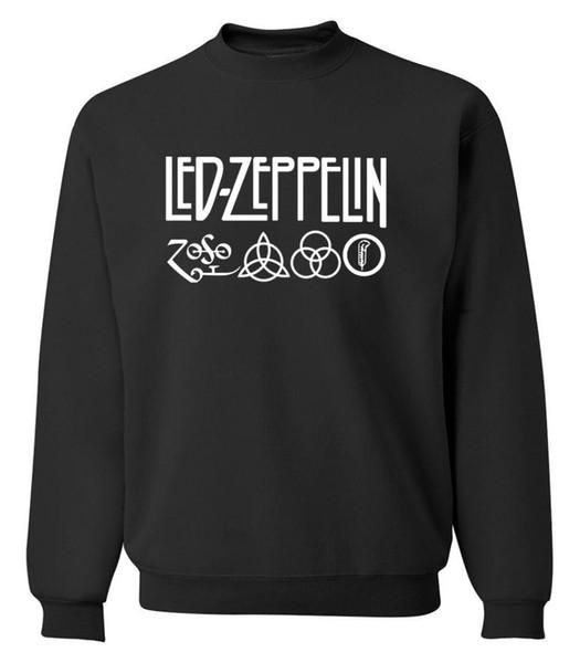 Rock And Roll Music Sweatshirt Men 2019 Hot Autumn Winter Fleece Fashion Men's Sweatshirts Hoodies K-pop Men's