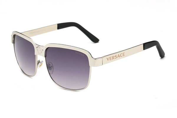 nueva moda gafas de sol clásicas actitud gafas de sol marco dorado marco de metal cuadrado estilo vintage diseño al aire libre modelo clásico 0259